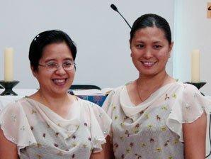 2007년 한국으로 파견된 필리핀 평신도 선교사 팀